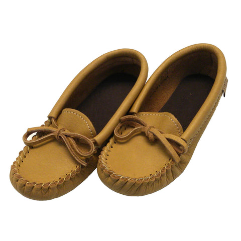 Moose Hide Moccasins - Youth
