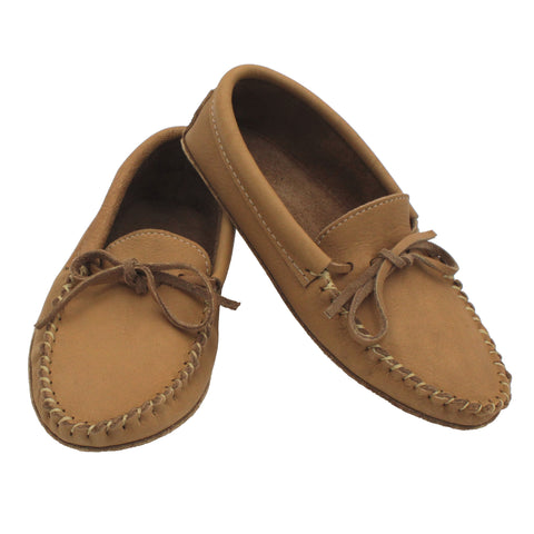 Cork Soft Sole Moosehide Moccasins