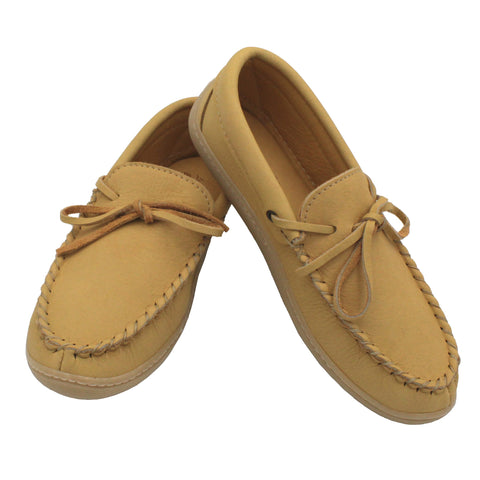 Double Moosehide Moccasins