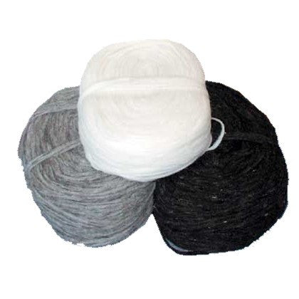 Wool Spinning Rolls. Made in Canada