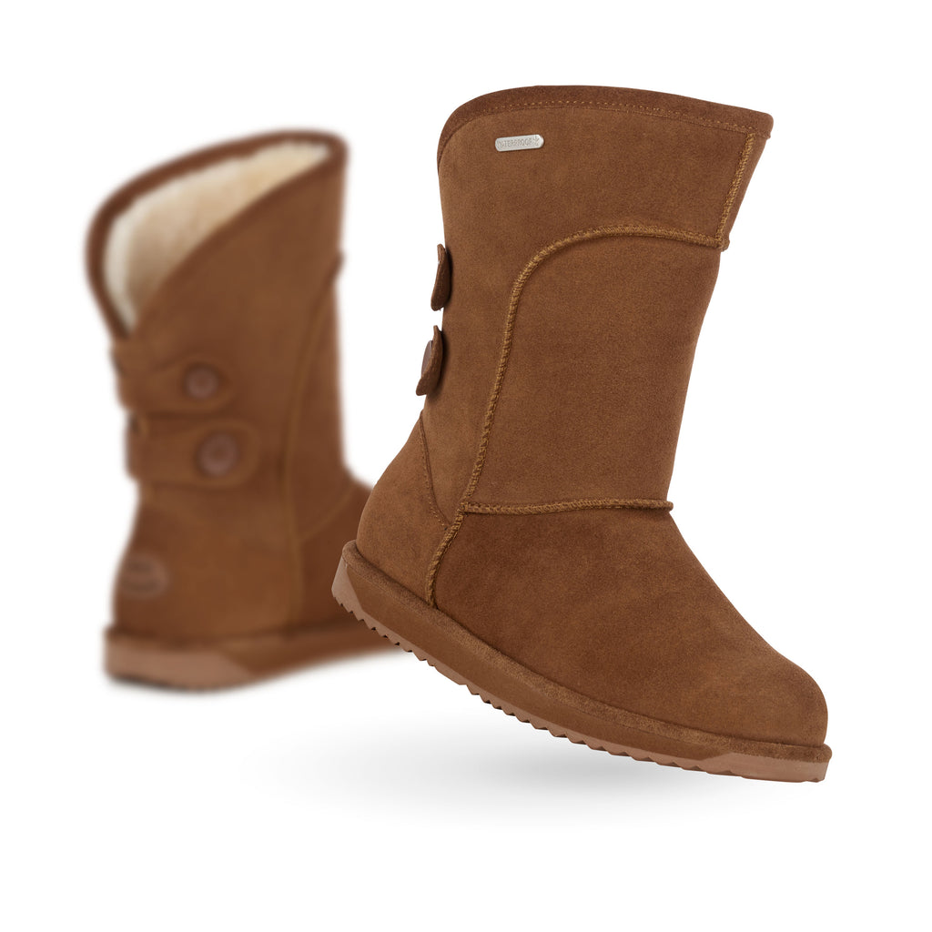 Charlotte WP Suede Sheepskin Boots