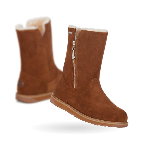 Gravelly Sheepskin Boots