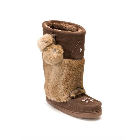 Women's Mid Calf Kanada Mukluk. Made in Canada by Manitobah Mukluks