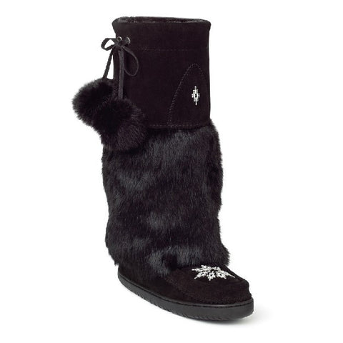 Women'sTall Kanada Mukluk. Made in Canada by Manitobah Mukluks