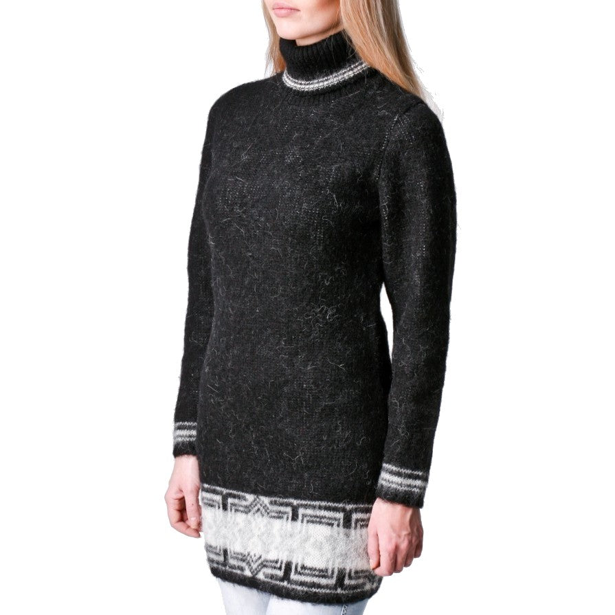 Long Turtleneck Wms Pullover
