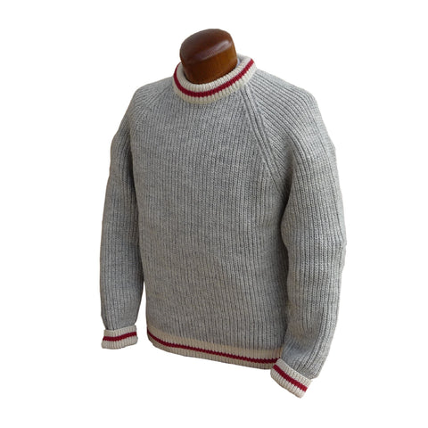 100% Wool Worksock Sweater. Made in Canada