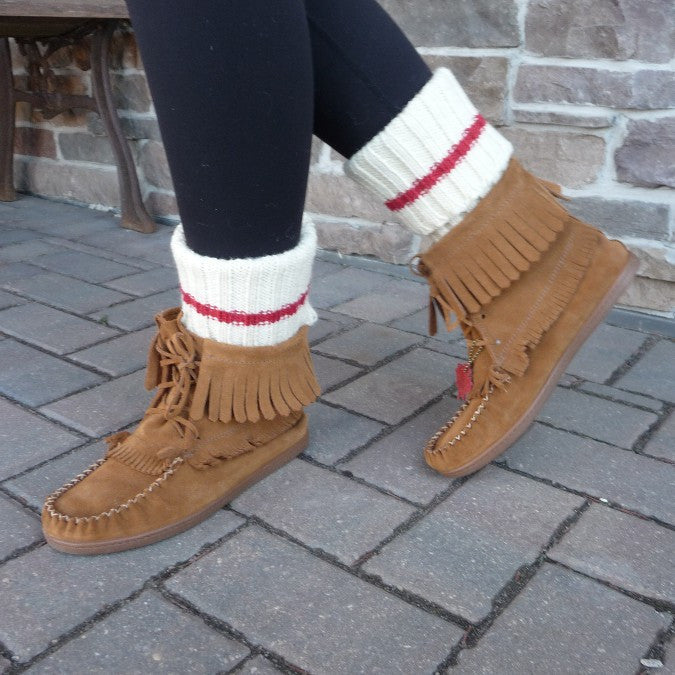 100% Wool Boot Cuffs. Made in Canada