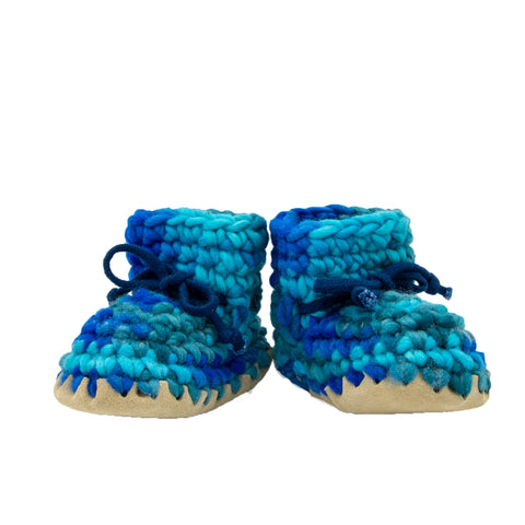 Crocheted Slippers - Newborn to Youth