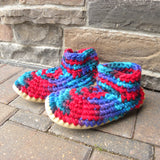 Crocheted Slippers - Adults