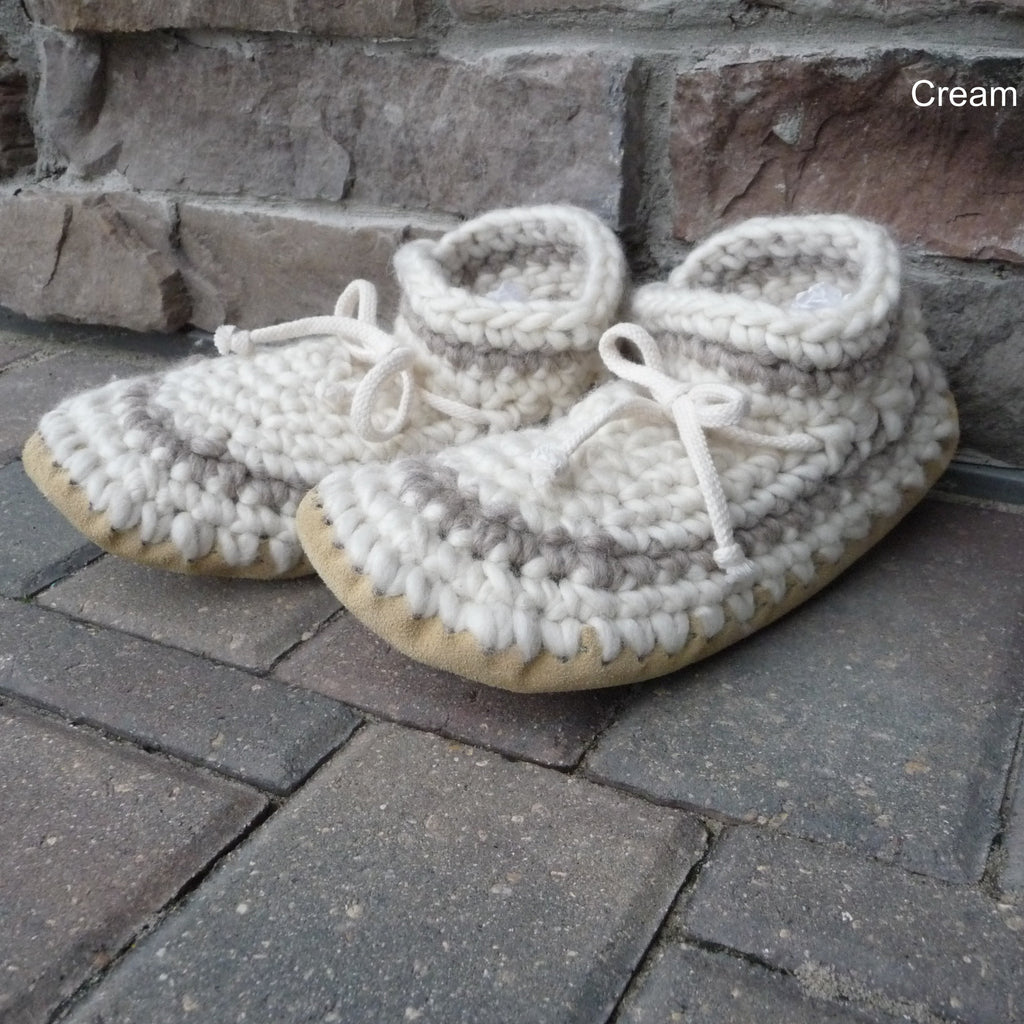 Crocheted Slippers - Adults – Egli\'s