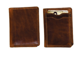 Rugged Earth Leather Wallet - Bifold CC & ID