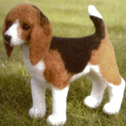 Beagle Needle Felting Kit