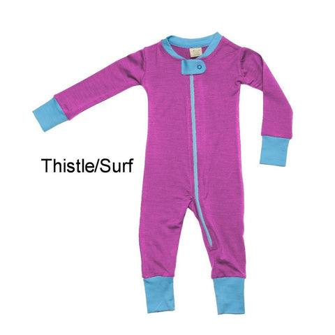 100% Merino Wool BabyPajamas. Made in Canada