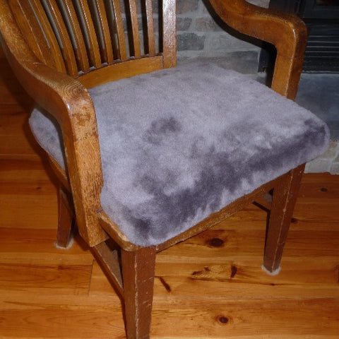 Sheepskin Medical Cushion. Made in Canada by Egli's Sheep Farm.