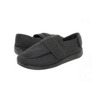 Velrco Wool Felt Hard Sole Medical Slippers.