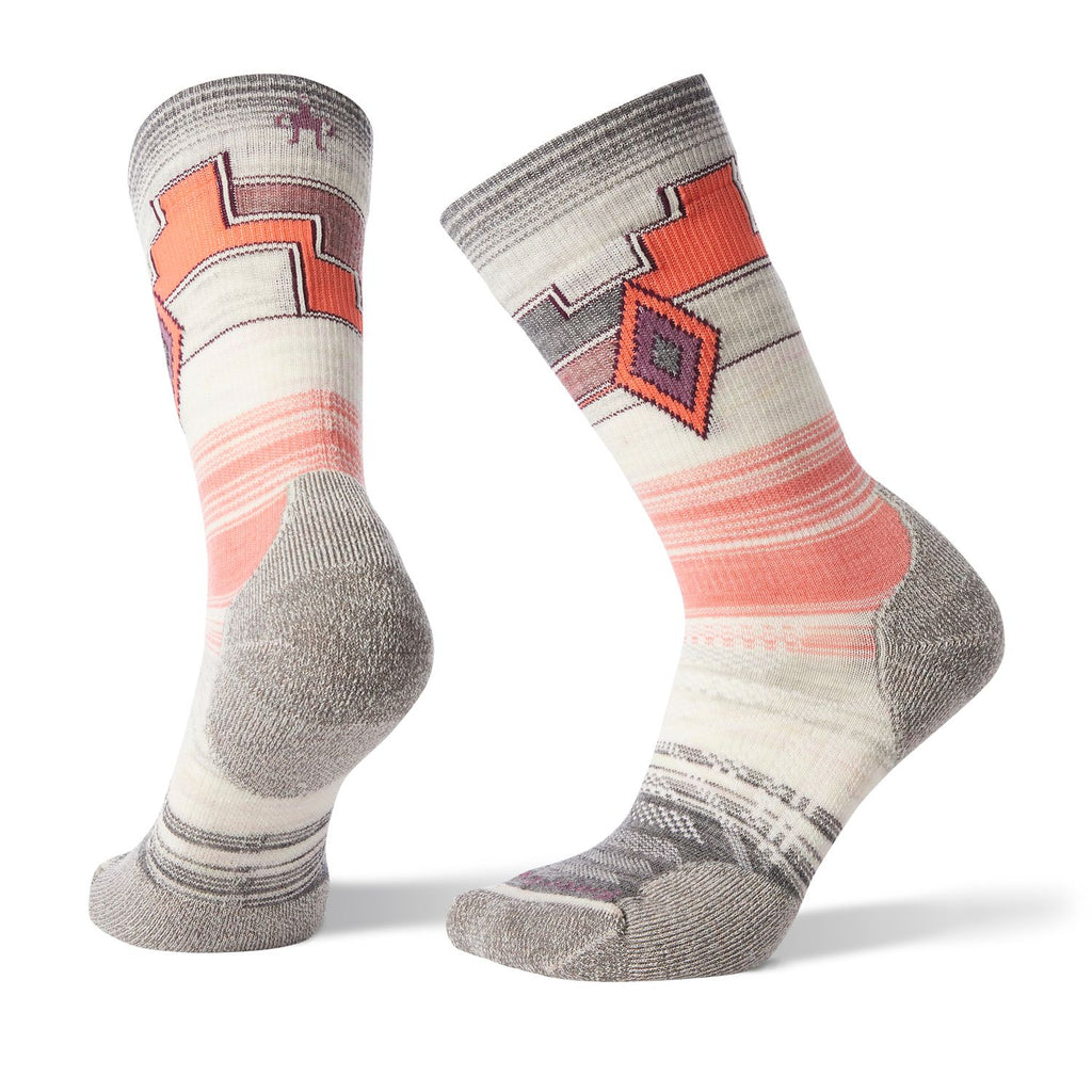 Wms PhD Outdoor Light Pattern Crew Socks