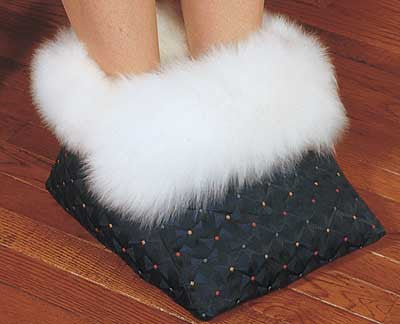 Sheepskin Foot Warmer Made in Canada by Egli`s Sheep Farm
