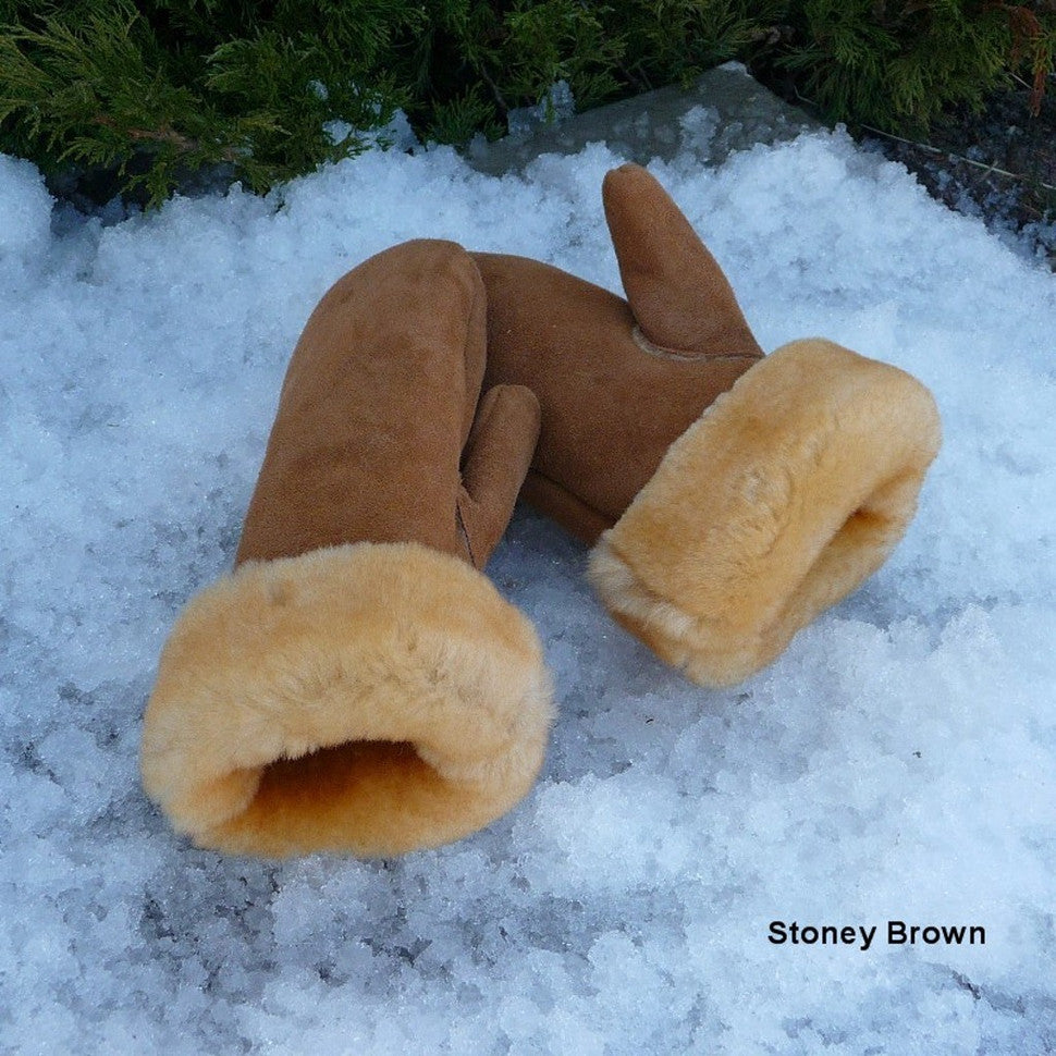 Sheepskin Polar Mitts