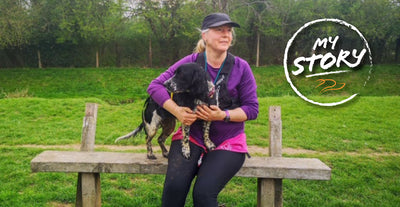"Facing a ""mid-life health crisis"" Lisa tells us how canicross came to her rescue"