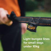 Light DogFit® Short Canicross Line 1.2m clip both ends
