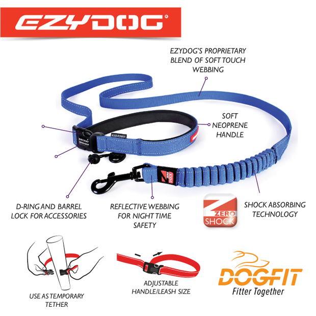 Ezydog Hands Free Walking Belt