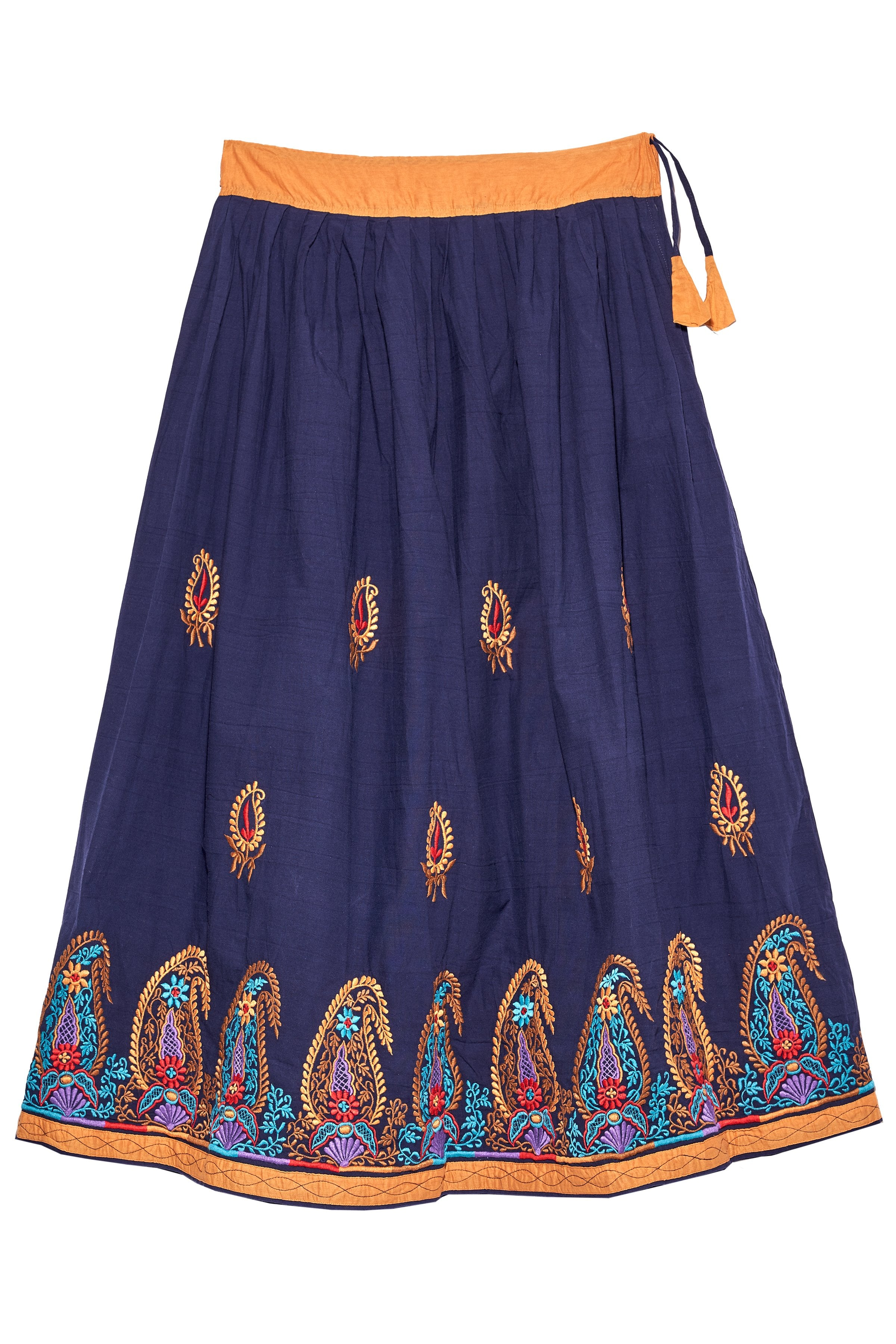 COMMUNITIE - Phulkari Embroidered Skirt