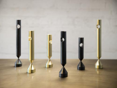 PILLAR CANDLESTICKS