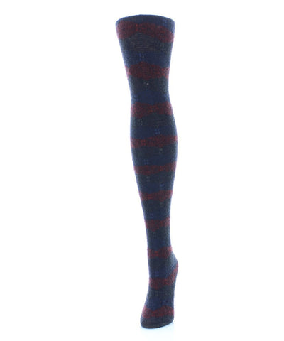 Zig Band Sweater Tights - MeMoi - 1
