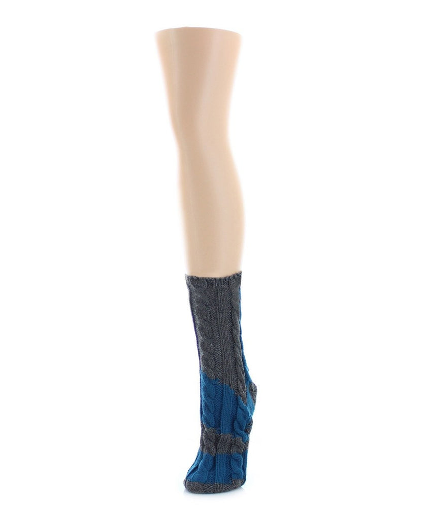 Color Swish Chunky Knit Boot Sock - MeMoi - 3