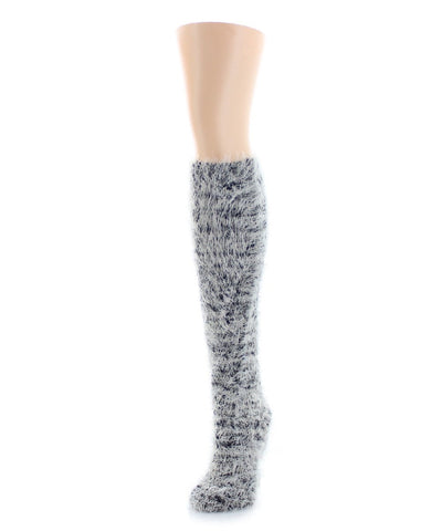 Ebbed Edge Chunky Knit Over The Knee - MeMoi - 1