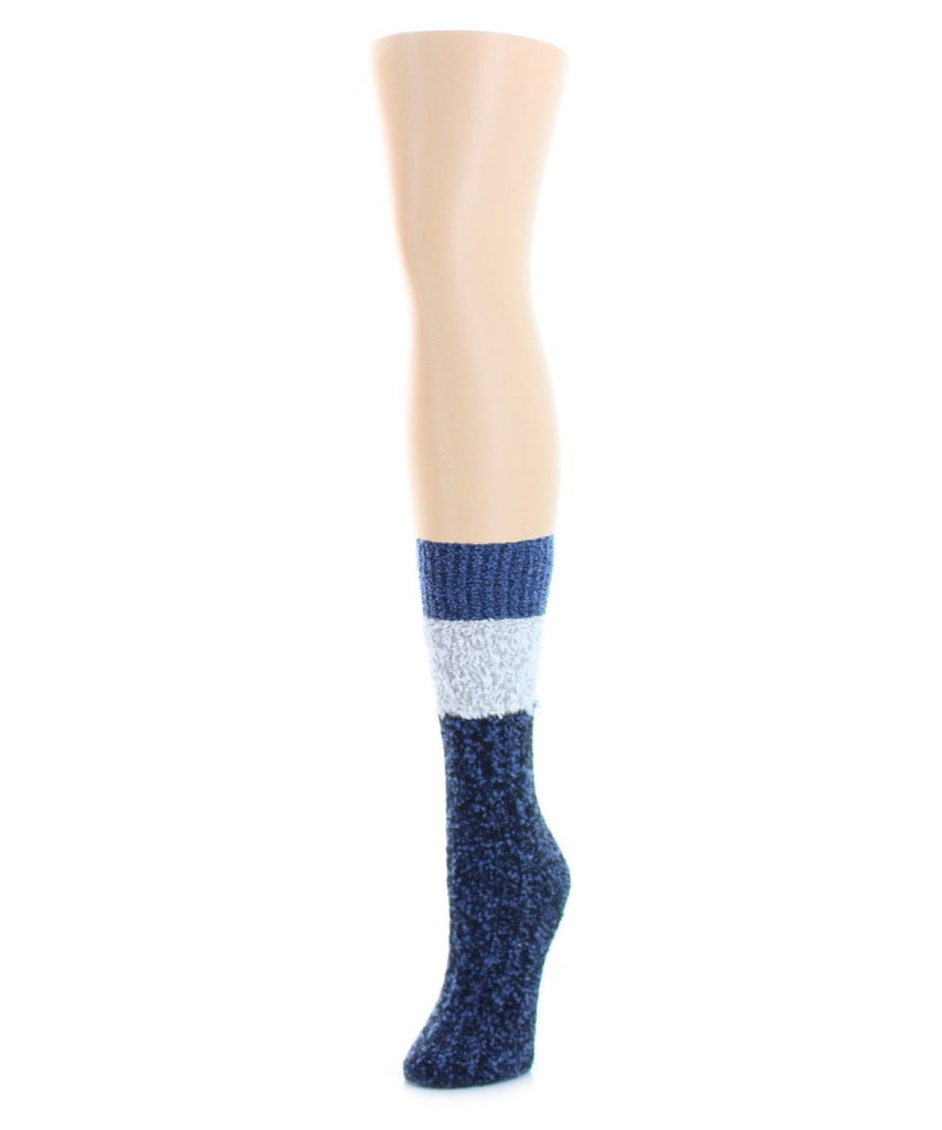 Distinctone Women's Soft-Fit Crew Socks (4 Colors) - MeMoi - 1
