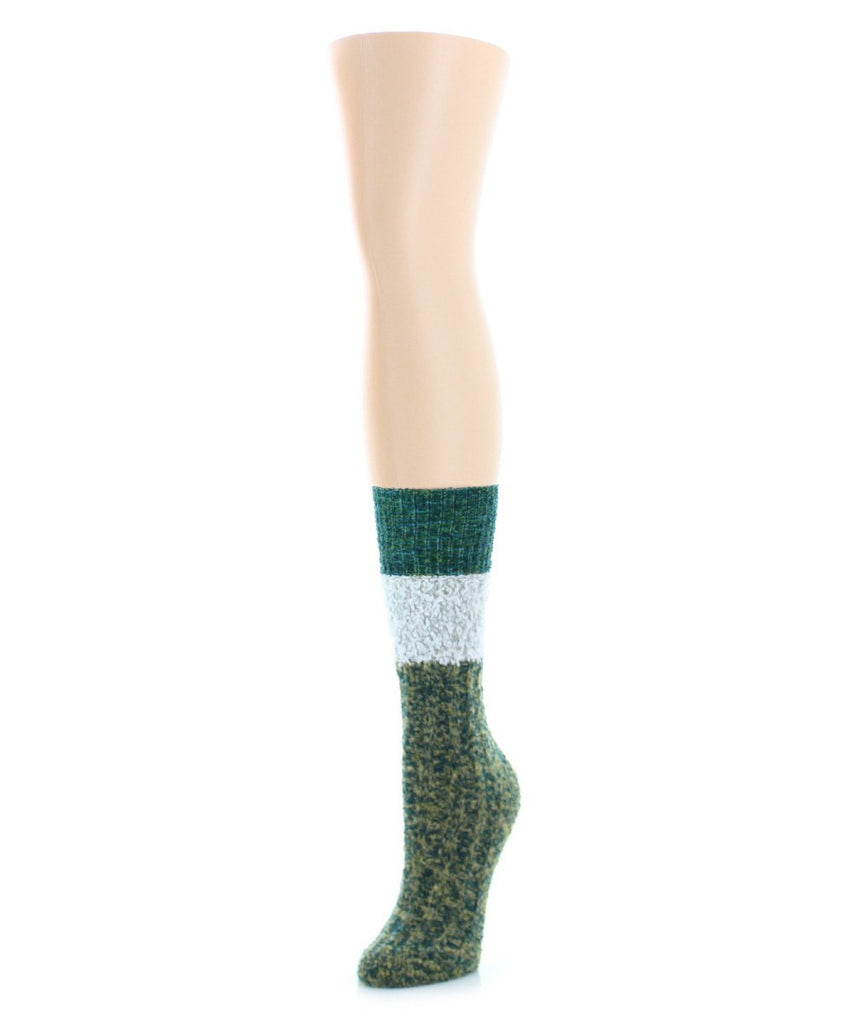 Distinctone Women's Soft-Fit Crew Socks (4 Colors) - MeMoi - 2