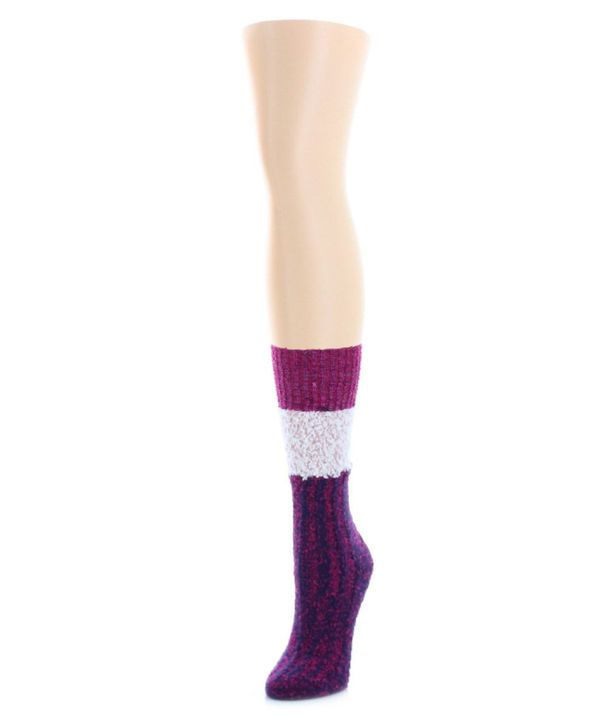 Distinctone Women's Soft-Fit Crew Socks (4 Colors) - MeMoi - 3