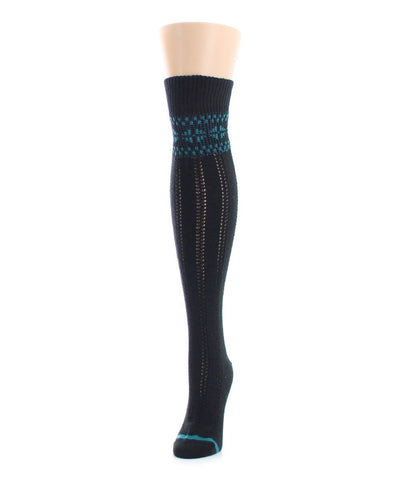 Fairisle Border Over The Knee - MeMoi - 1