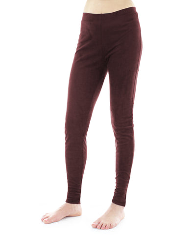 Suede Fashion Leggings Pants