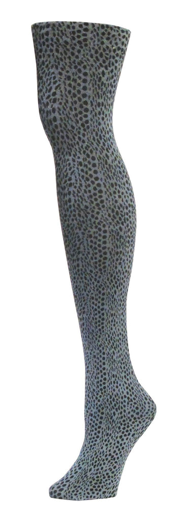 Snake Skin Opaque Tights