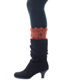Boot Toppers | Knit Socks | Twist Ribbed Pattern - MeMoi - 1