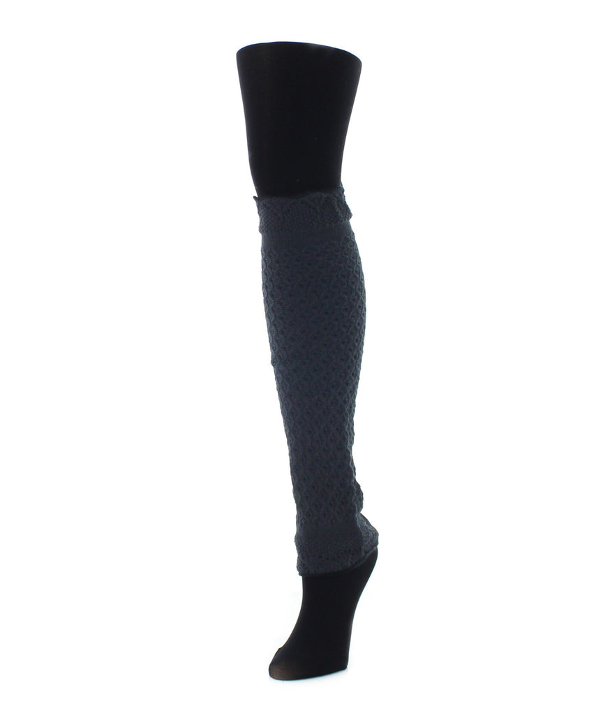 Interwoven Scalloped Classic Leg Warmer - MeMoi - 2