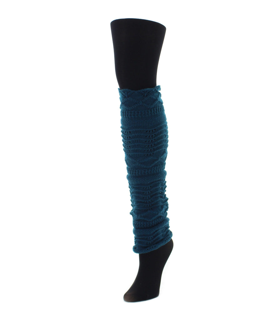Scalloped Diamond Leg Warmer - MeMoi - 2