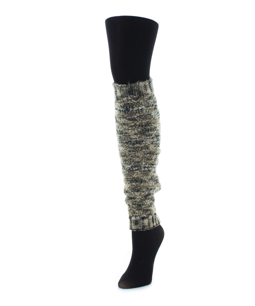 Diamond Marled Leg Warmer - MeMoi - 1