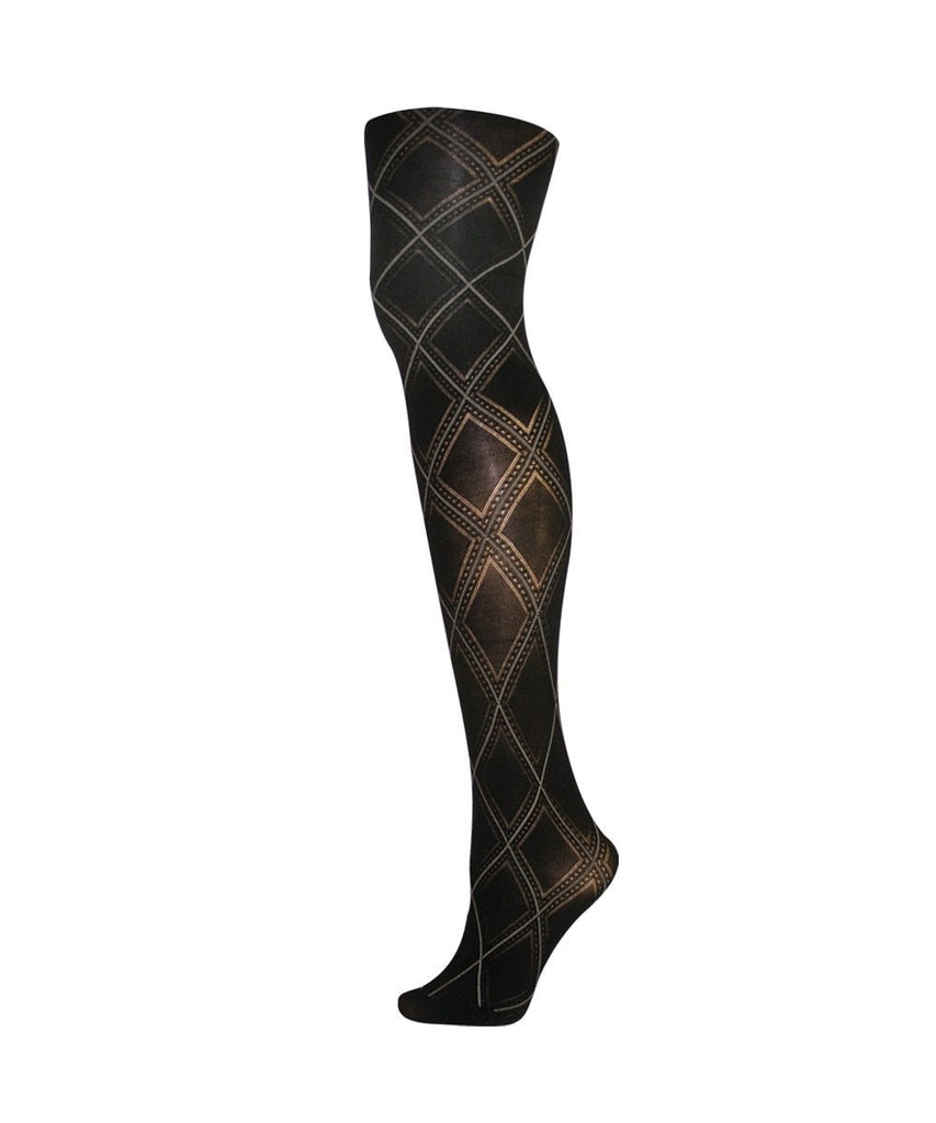 Feminine Diamond Fashion Tights - MeMoi - 1