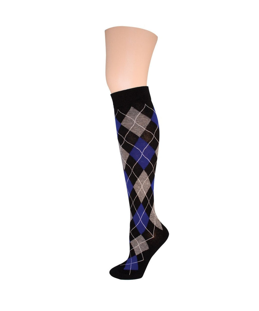 Argyle Obsession Knee High - MeMoi