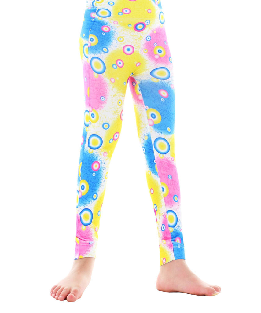 Girls Retro Dots Leggings - MeMoi - 1