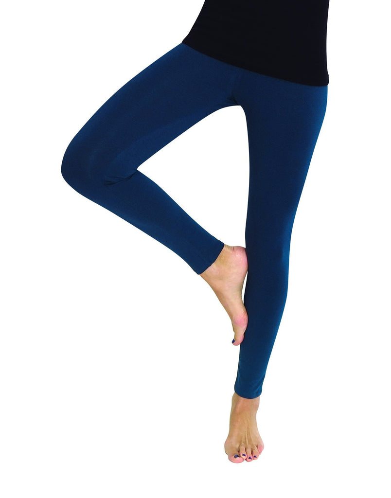 Premium Fleece Footless Tights - Assorted Colors - MeMoi - 5