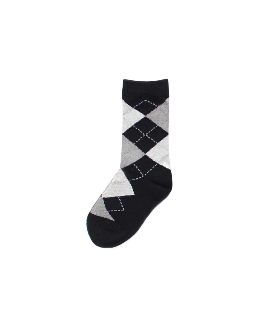Boy's Argyle Dress Socks - MeMoi - 1