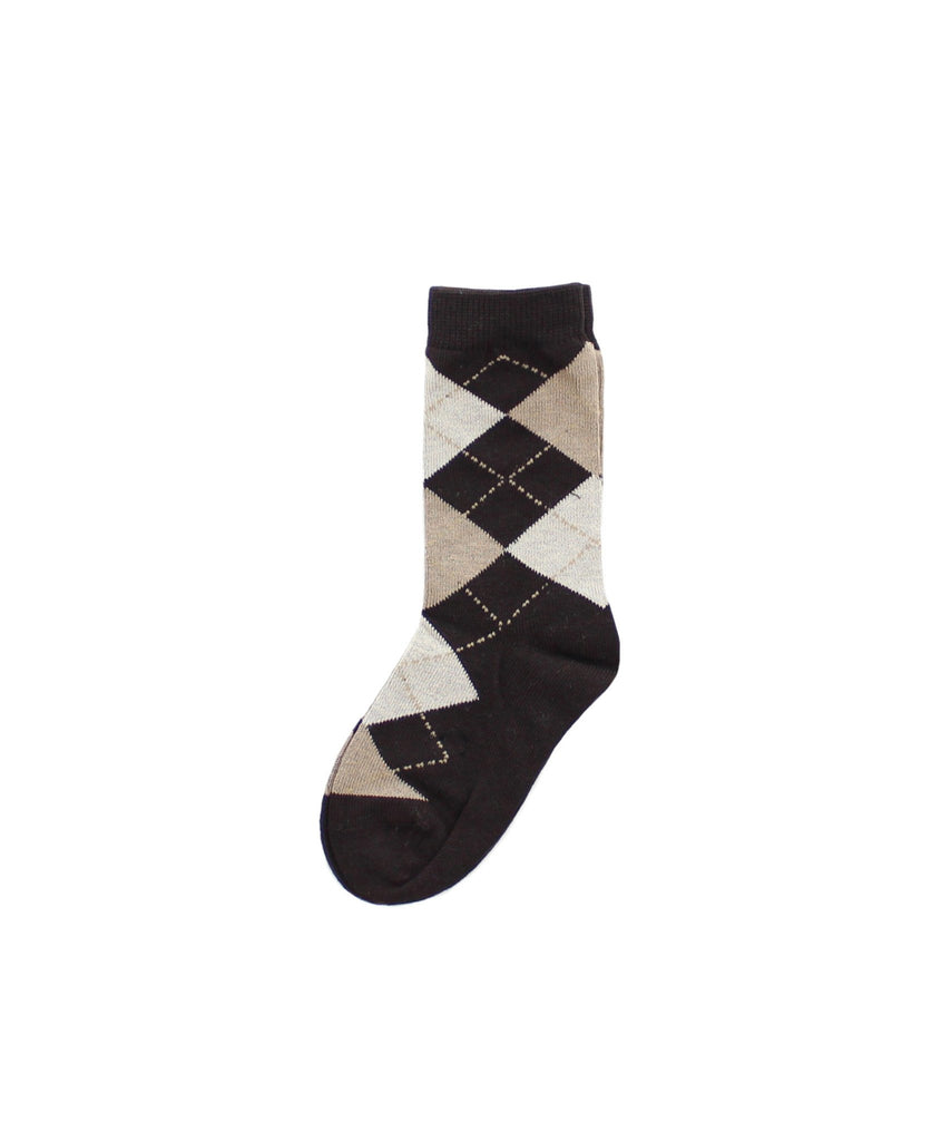 Boy's Argyle Dress Socks - MeMoi - 2
