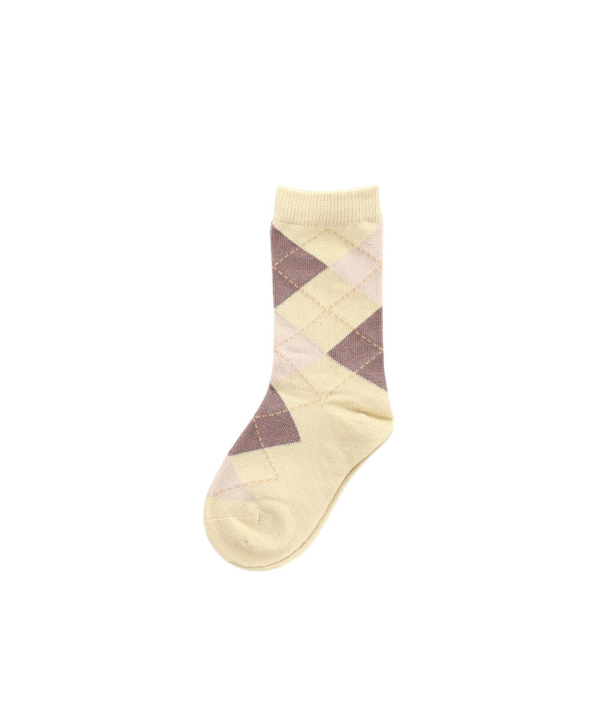 Boy's Argyle Dress Socks - MeMoi - 3