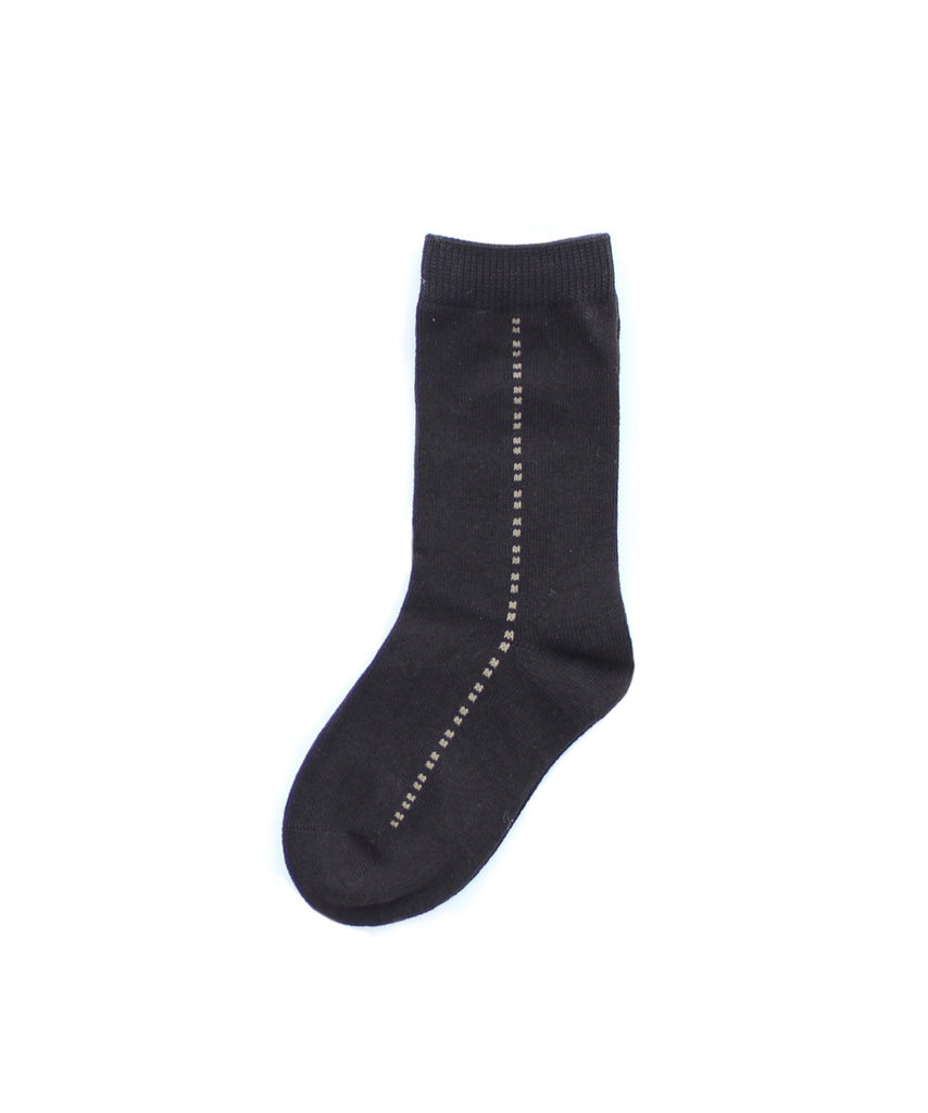 Boy's Center Dots Dress Socks - MeMoi - 3