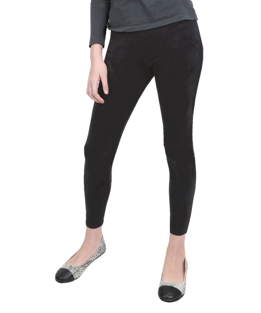 Girls Micro Suede Leggings - MeMoi - 1