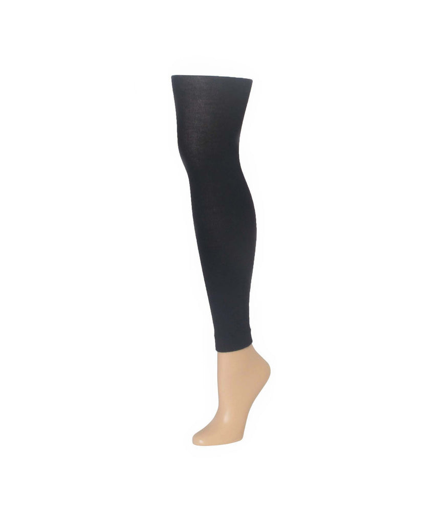 Cashmere Blend Footless Tights - MeMoi - 2